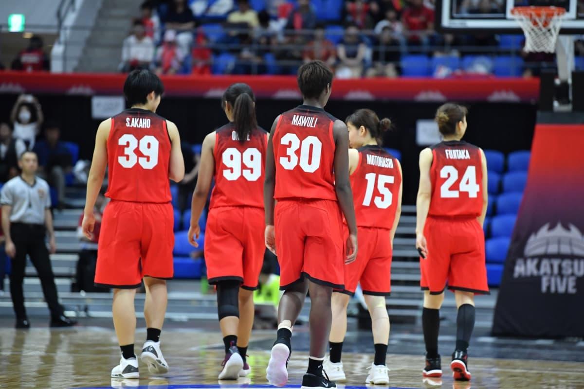 バスケットボール女子日本代表国際強化試合2018 三井不動産カップ