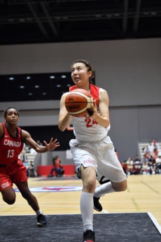 バスケットボール女子国際強化試合2018 三井不動産カップ新潟大会